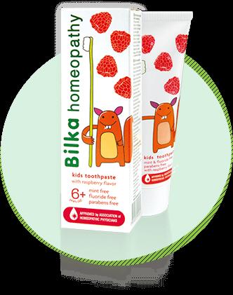 Детска гелна паста за зъби Bilka homeopathy 6+