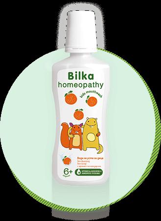 Bilka homeopathy Вода за уста за деца 6+
